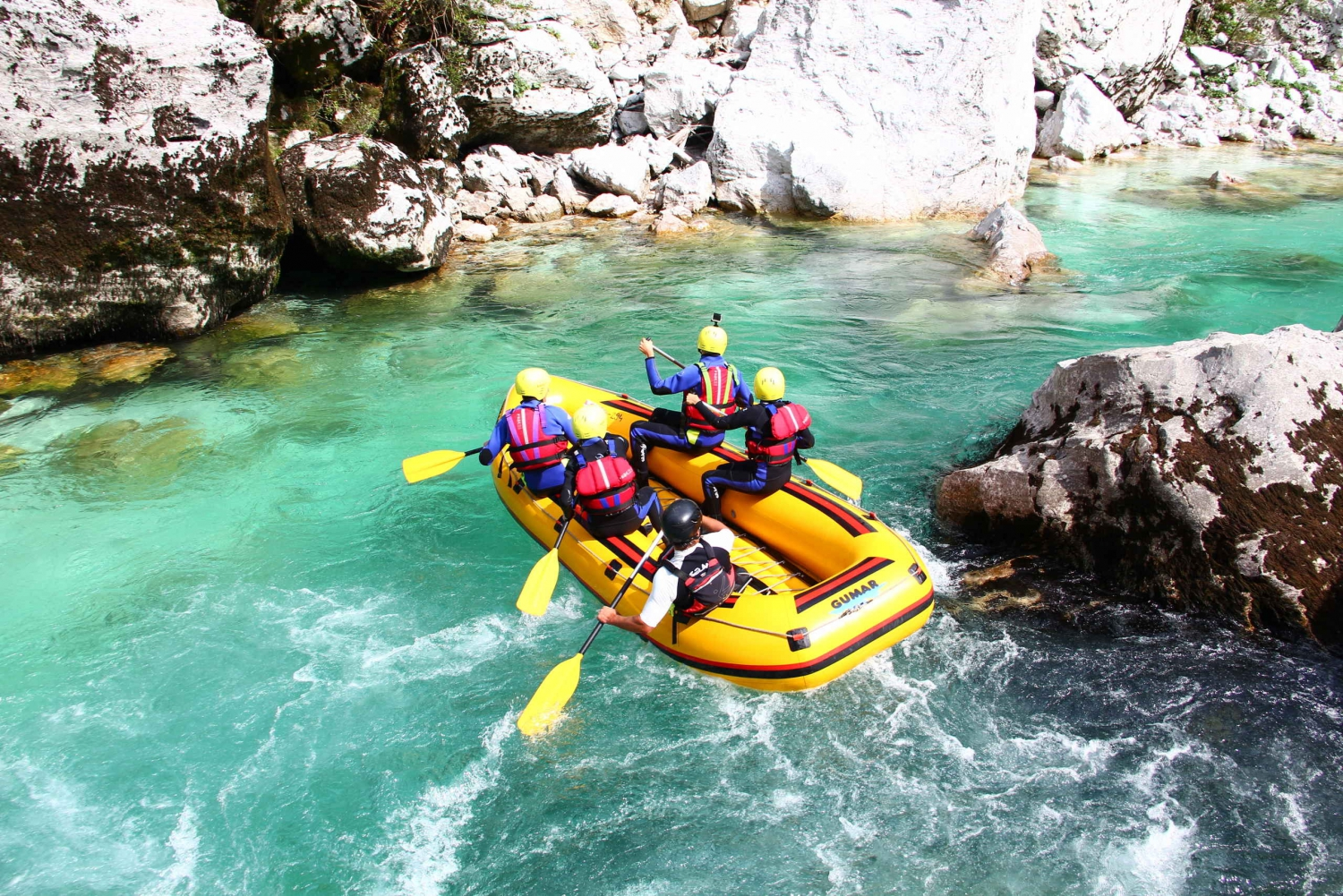 Full Day Rafting With A Picnic On Soča River