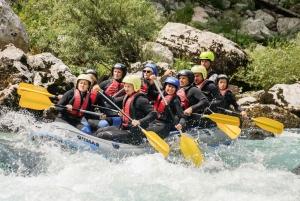 Half Day Rafting on the Emerald Soca River