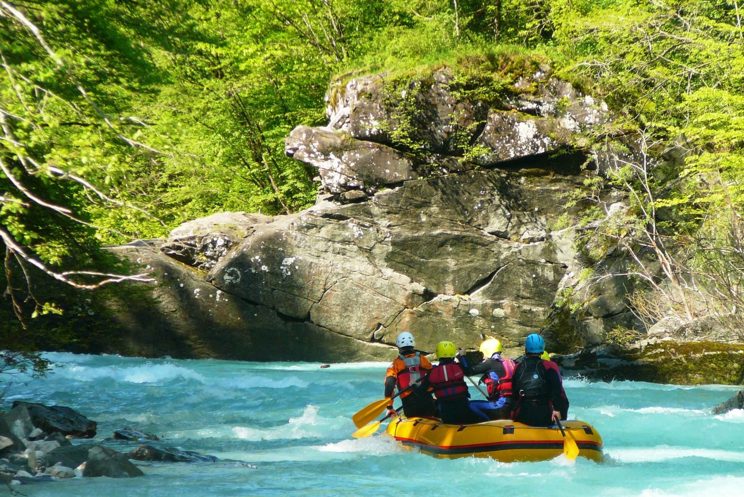 Half-Day Rafting Tour on Soča River