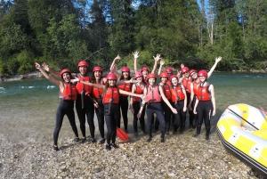 Lake Bled: Canyoning and Rafting