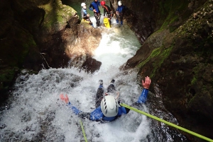 Lake Bled: Rafting and Canyoning Excursion