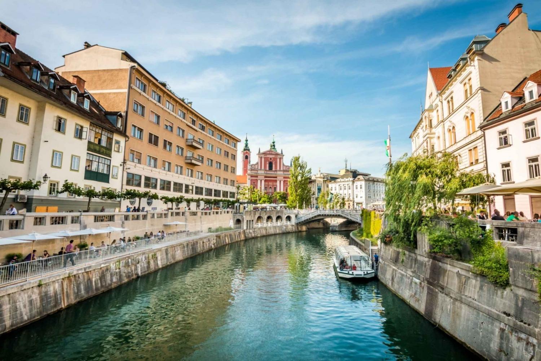 Ljubljana 2-Hour Walking Tour and River Cruise