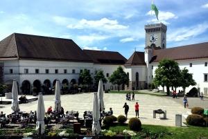 Ljubljana and Ljubljana Castle Sightseeing Tour
