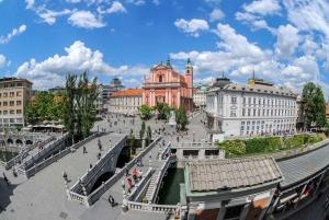 Ljubljana: Guided Walk & Funicular Ride to Ljubljana Castle