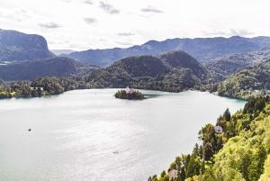 Ljubljana or Bled: Lake Bled & Postojna Cave Day Trip