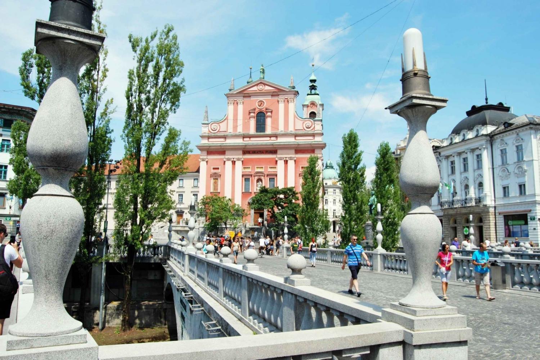 Ljubljana: Private Guided Walking Tour