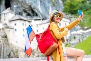 Ljubljana: Private Postojna Cave & Lake Bled Tour