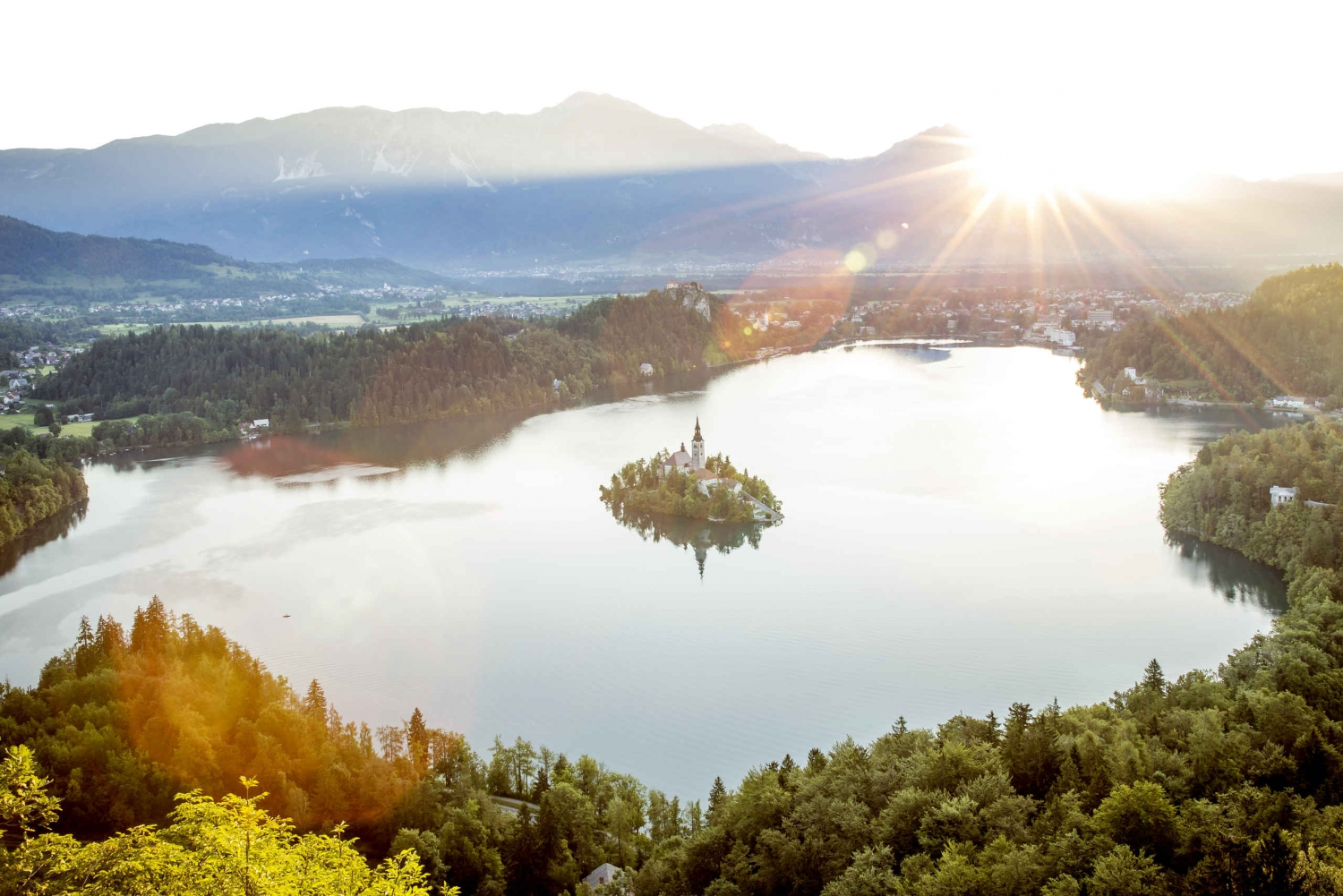 Private Trip to Lake Bled and Radovljica with Lunch