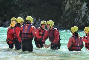 Rafting Adventure on the River Soča