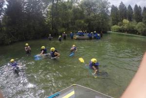Rafting on Sava River
