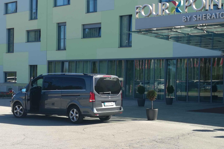 Transfer from Ljubljana City to Ljubljana Airport