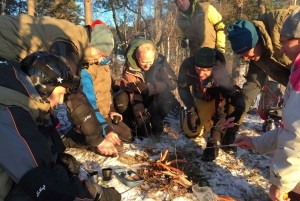 From Stockholm: Snowshoeing in the Wild