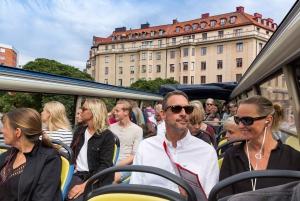 Stockholm: Bus or Bus & Boat Hop-On Hop-Off Tour