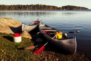 Stockholm: Canoe Adventure in Bogesund Nature Reserve