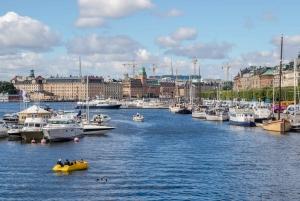 Stockholm: Hop-on Hop-off by Bus