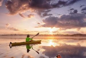 Sunset Kayak Tour in Stockholm's Archipelago