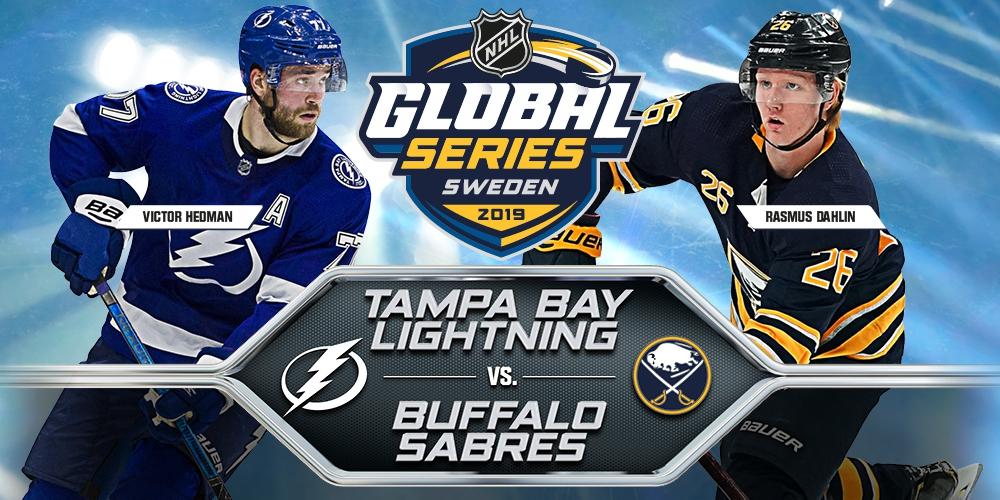 2019 NHL GLOBAL SERIES - TAMPA BAY LIGHTNING vs BUFFALO SABRES