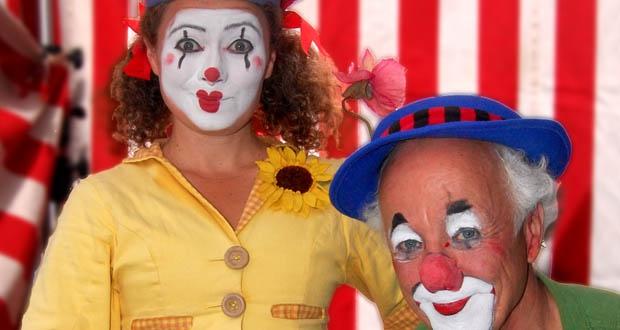 Barnsöndag på Tonsalen - Clownen Manne