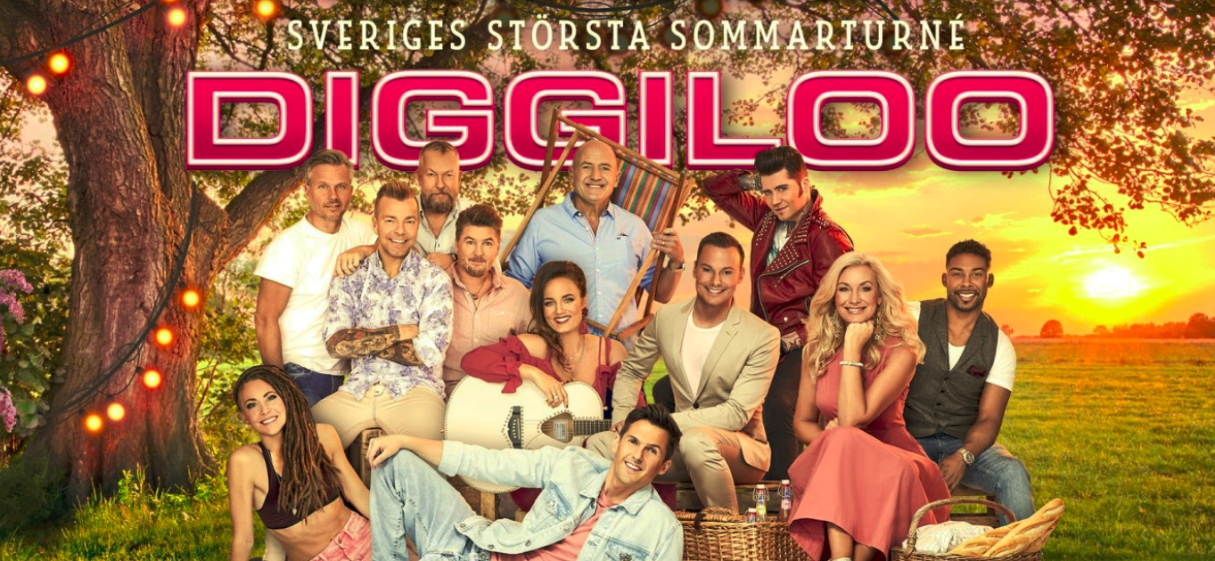 DIGGILOO - THE BIGGEST SUMMERTOUR IN SWEDEN