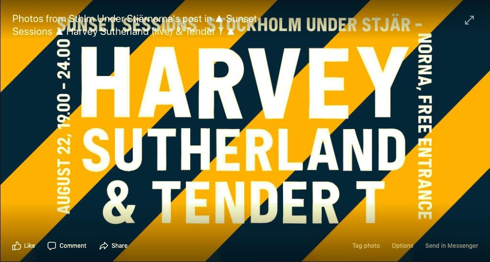 HARVEY SUTHERLAND & TENDER T