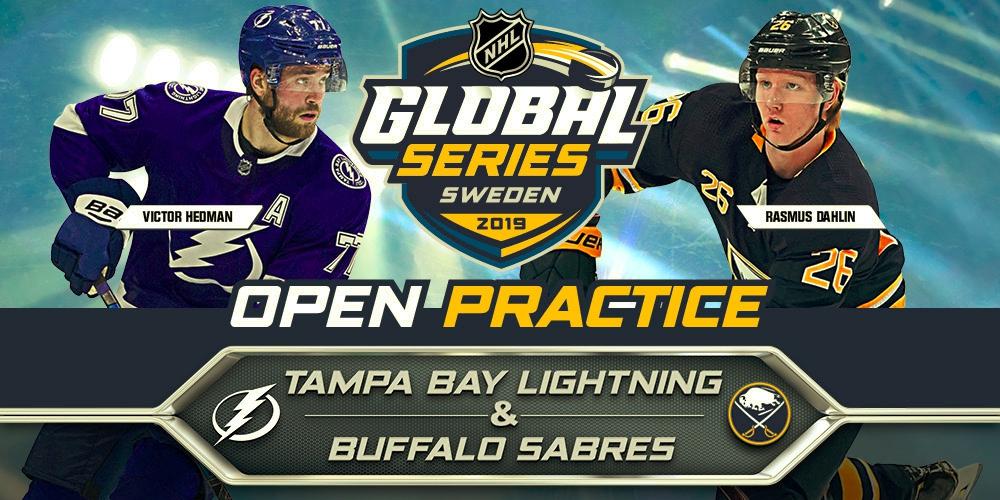OPEN PRACTICE 2019 NHL GLOBAL SERIES