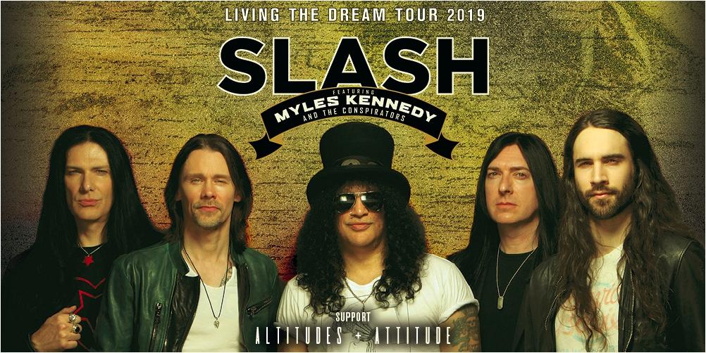 SLASH - Living The Dream Tour 2019