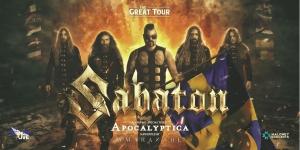 SABATON - THE GREAT TOUR