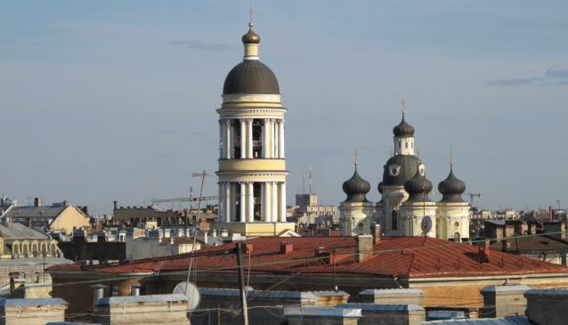 The Rooftops of St Petersburg