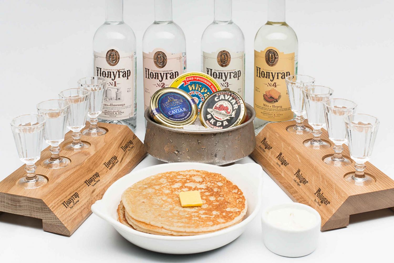 Caviar & Vodka Tasting at Russian Vodka Museum