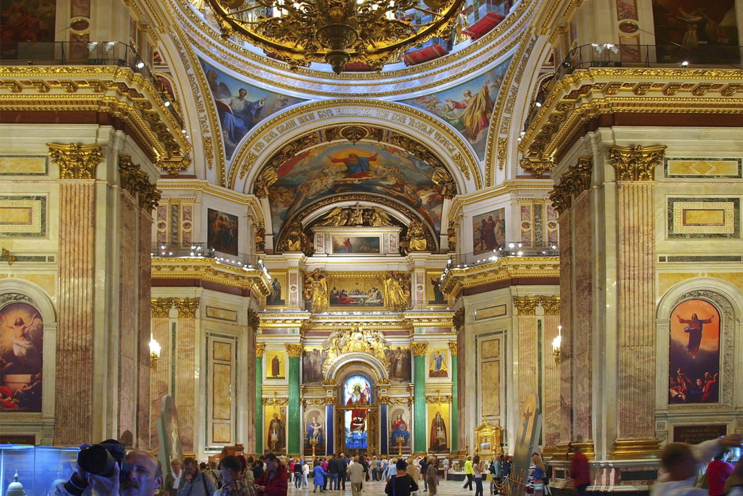 Church of the Savior on Blood, St. Isaac and Kazan Cathedral