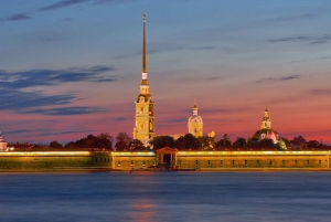 City Tour with Peter and Paul Fortress visiting