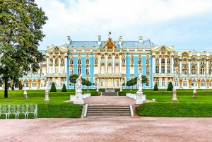 From St. Petersburg: Catherine Palace Tour with Amber Room