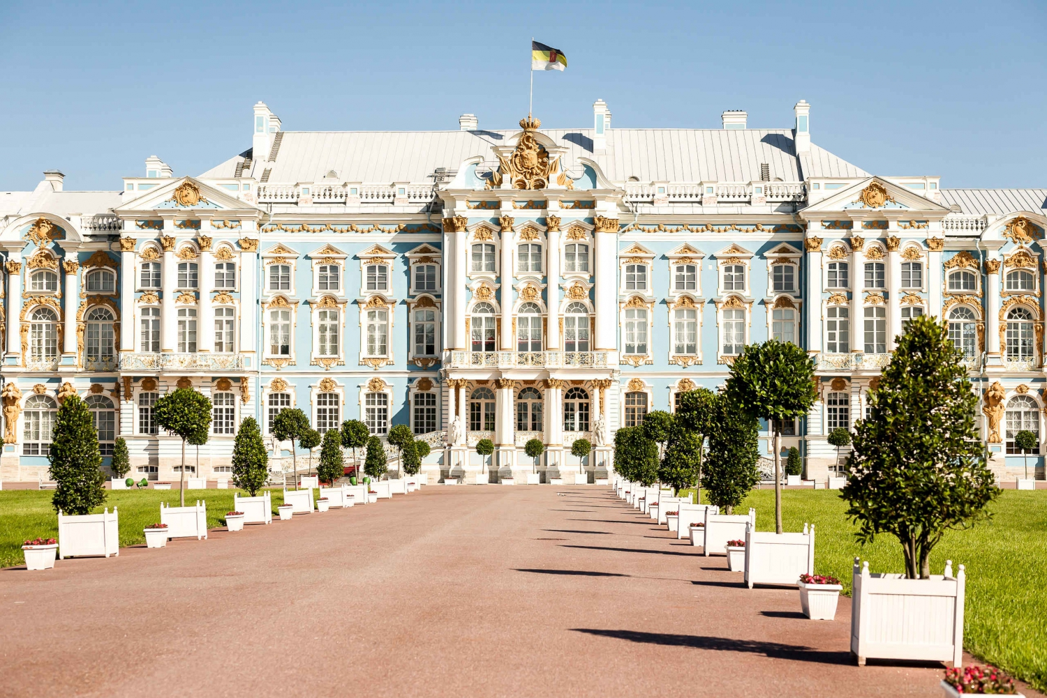From St. Petersburg: Private Tour to Catherine Palace