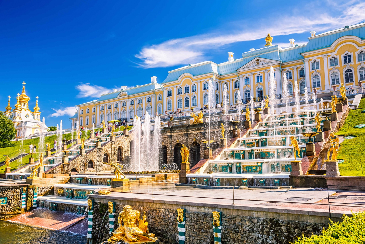 From St. Petersburg: Tour Gardens & Fountains of Peterhof