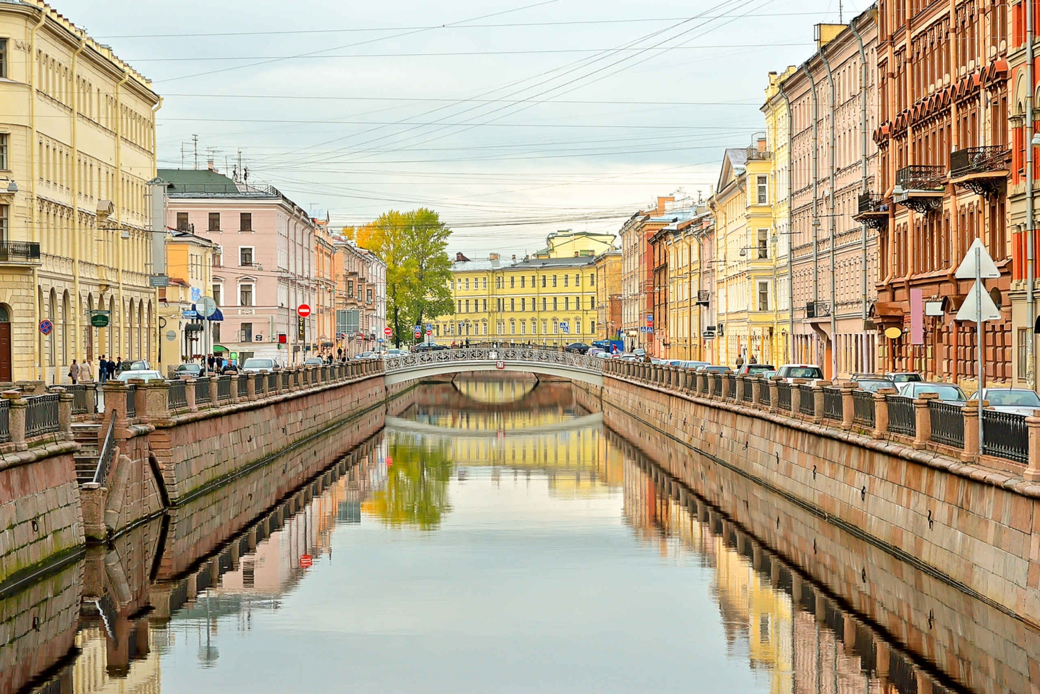 Imperial St. Petersburg: Day Boat Tour