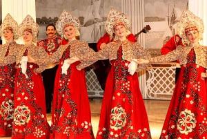 Nikolaevsky Palace: Folklore Show with Snacks and Drinks