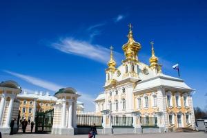 Peterhof Palace and Gardens Half-Day Tour
