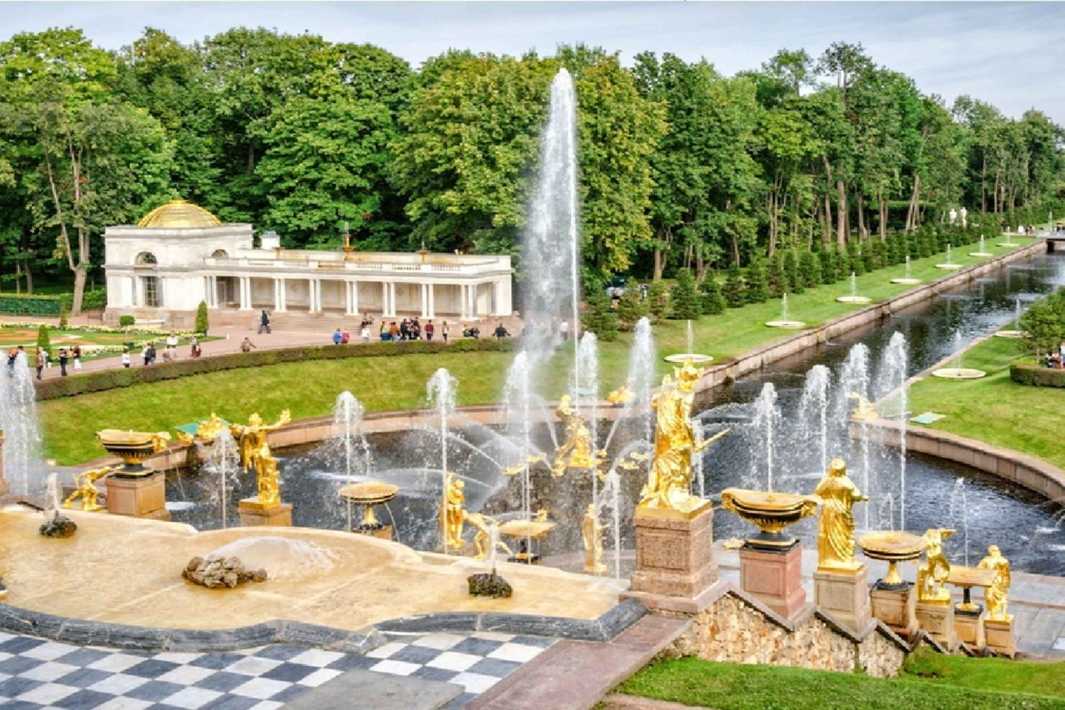 Peterhof Palace and Parks 5-Hour Guided Tour