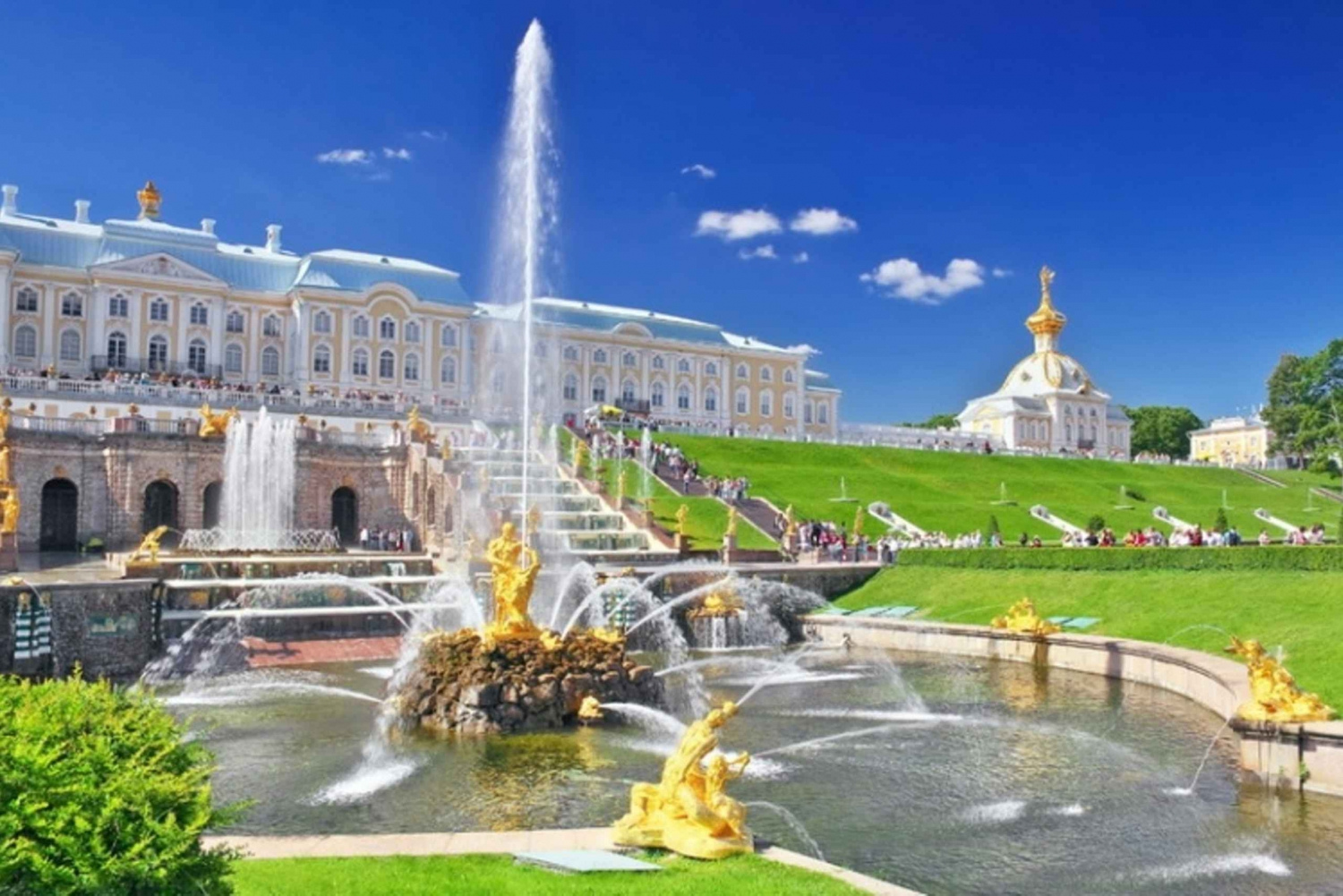 Peterhof Tour with Return by Hydrofoil