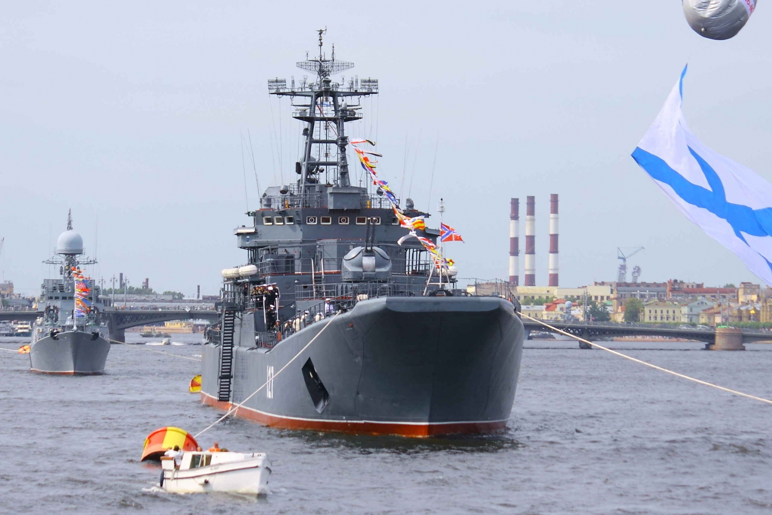 Russian Navy Day Tour