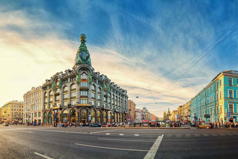 Saint Petersburg: City Highlights Tour