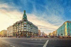 Saint Petersburg: City Sightseeing Walking Tour