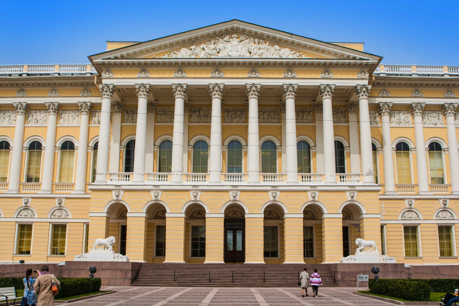 Saint Petersburg: Guided City Tour with Russian Museum