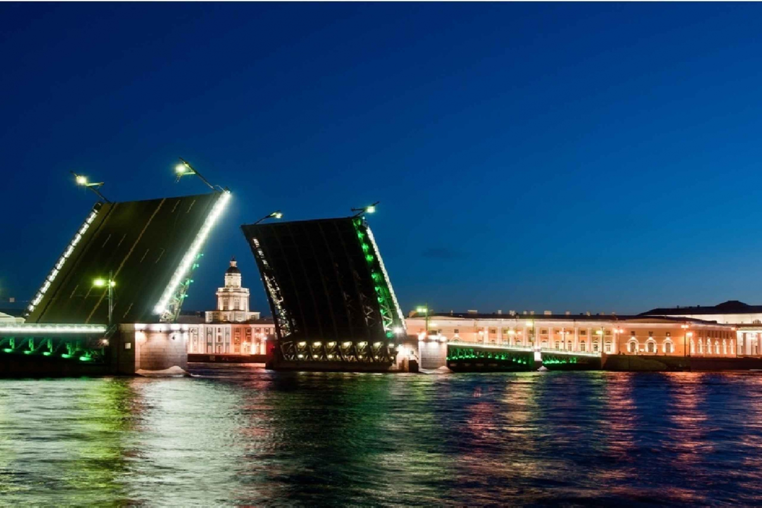 Saint Petersburg: Illuminations by Night City Tour