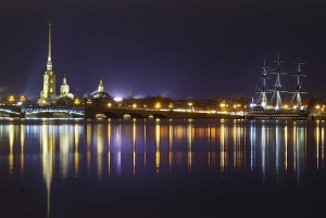 Saint Petersburg: Illuminations by Night City Tour