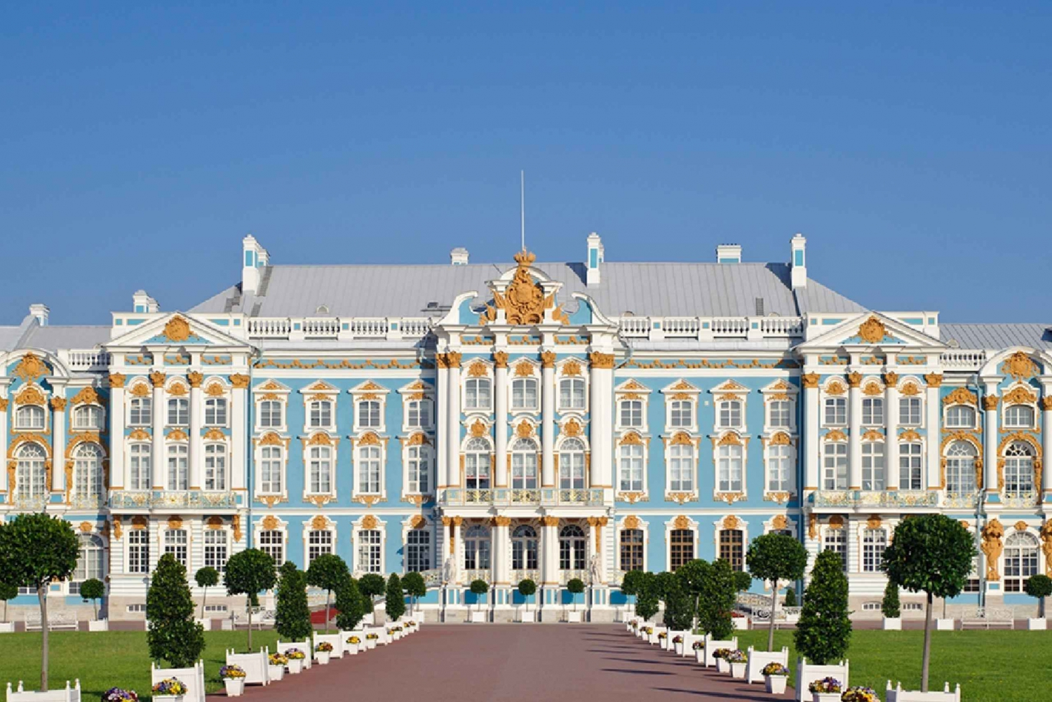 Saint-Petersburg: Private Tour of Catherine Palace & Park