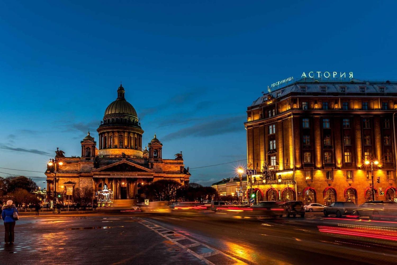 St. Petersburg: 2-Hour Night Walking Tour