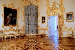 St. Petersburg: Catherine's Palace & Amber Room Private Tour