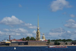 St Petersburg Channels and River Boat Tour