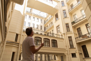 St. Petersburg: Chernyshevskaya Audio-Guided Walking Tour